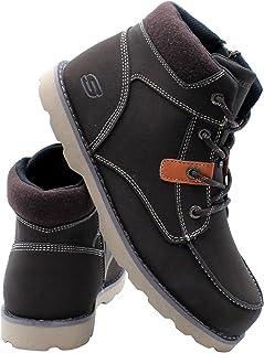 Skechers Kids Bowland Boot (Big Kid) - Brown