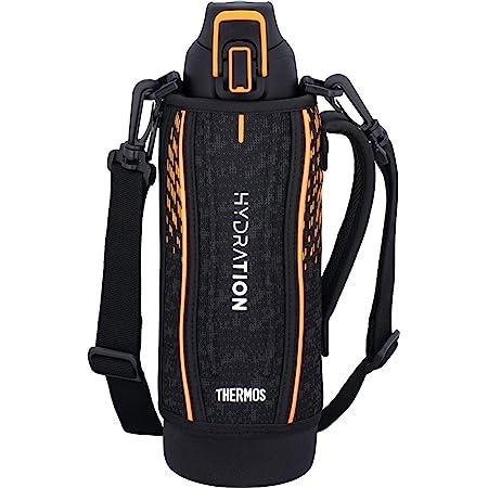 サーモス 水筒 真空断熱スポーツボトル 1L ブラックオレンジ FHT-1001F BKOR