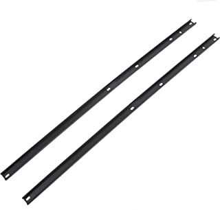 ECOTRIC Roof Rack Side Rail Package for 2009-2017 Chevrolet Traverse, Direct Aftermarket Replacement for Part # 19244264