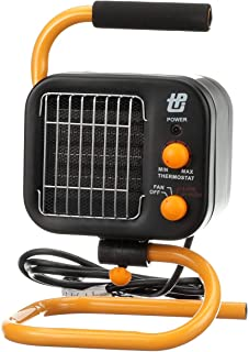 TPI Corporation 178TMC Fan Forced Portable Heater – Ceramic Heating Element, High/Low..