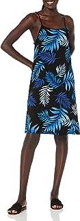 28 Palms Vestido con Estampado Hawaiano Tropical. Vestido Informal para Mujer