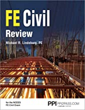 PPI FE Civil Review, 1st Edition (Paperback) – A Comprehensive FE Civil Review Manual