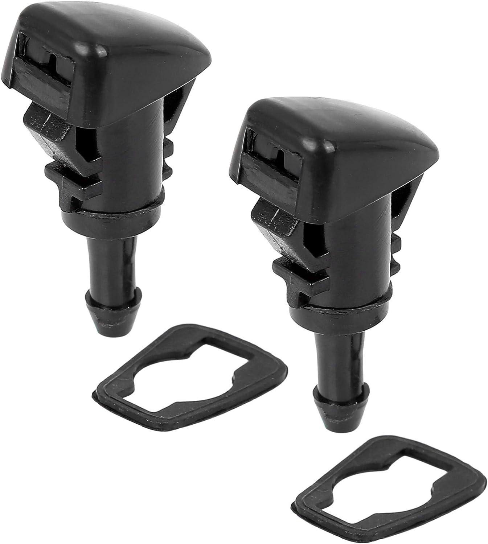X AUTOHAUX 2pcs 47230 Long Beach Mall Car Sprayer Max 83% OFF Wiper Windshield Nozzle Washer