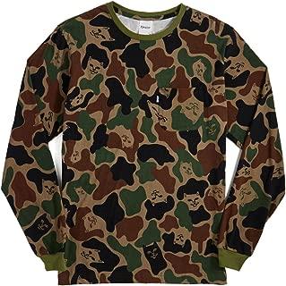 Rip N Dip Lord Nermal Long Sleeve T-Shirt - Army Camo