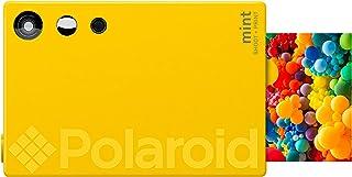 Polaroid Mint Cámara Digital de impresión instantánea con tecnología ZINK sin Tinta (Amarillo) Impresiones en Papel fotográfico Zink 2x3 con Base Adhesiva