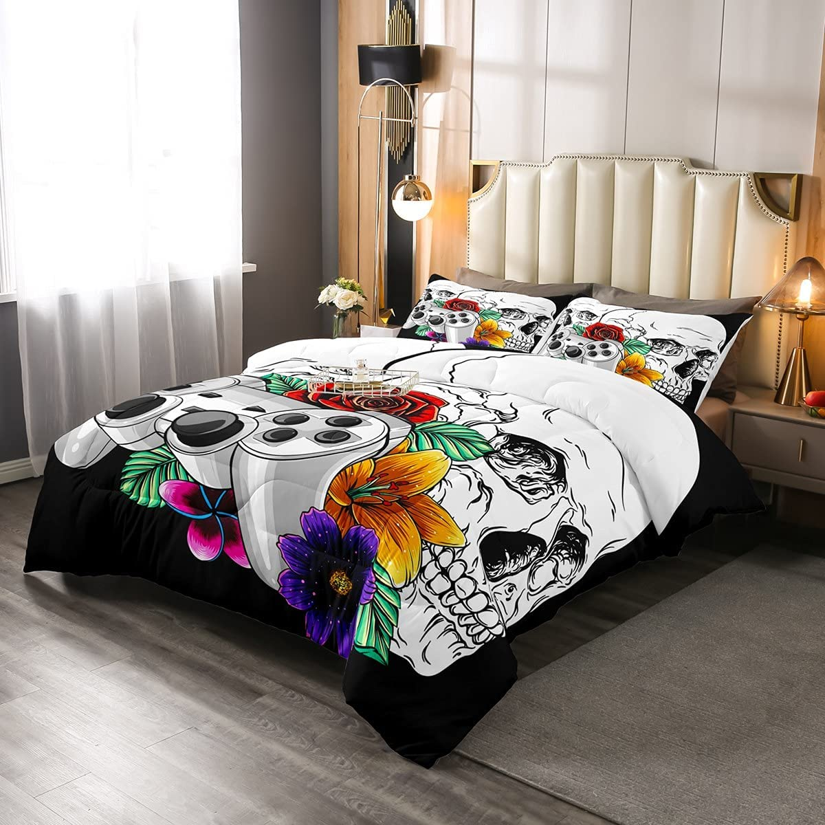 Erosebridal Gaming Bedding Set for Size Boys Gamer Fixed price sale Twin Max 88% OFF Gamepad