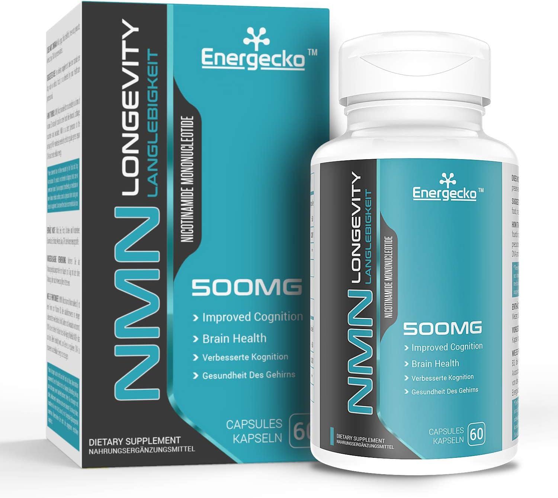 shop Energecko NMN Nicotinamide Mononucleotide mg Nat Supplement 500 famous