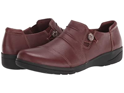 Clarks Cheyn Inca (Mahogany Leather) Women
