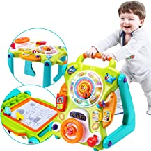 iPlay, iLearn 3 in 1 Baby Sit to Stand Walkers Toys, Kids Activity Center, Toddlers Musical Fun Table, Lights and Sounds, ...