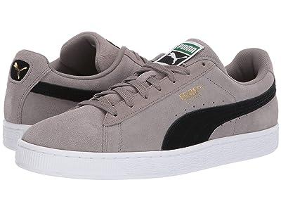 PUMA Suede Classic (Charcoal Gray/Puma Black) Athletic Shoes