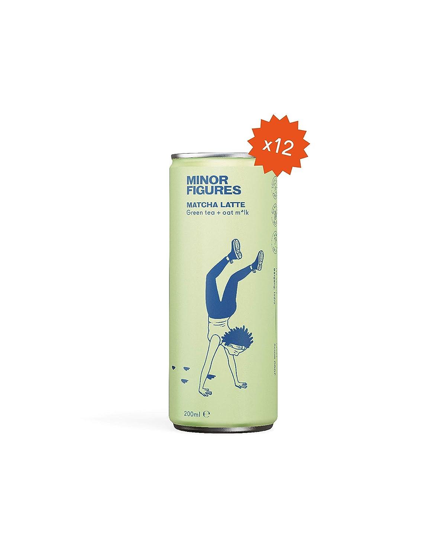 Minor Figures Brand new - Oat Omaha Mall Milk Matcha 12 8.5 Latte Oz Pack Vegan