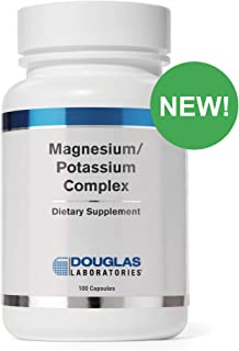 Douglas Laboratories - Magnesium/Potassium Complex - Supports Cardiovascular Health and Skeletal Muscle Contractility* - 100 Capsules