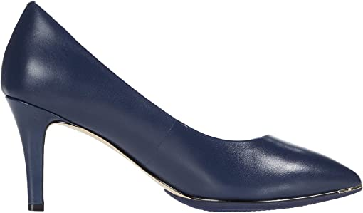 Marine Blue Leather/Black Sole Edge/Marine Blue/Gold