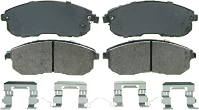 Wagner QuickStop ZD815 Ceramic Disc Pad Set Includes Pad Installation Hardware, Front