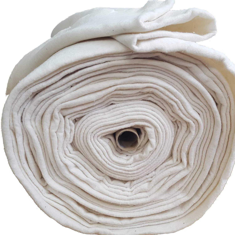 Guata de algodón para manualidades. Ancho de 280 cm. Se vende por metros.: Amazon.es: Hogar