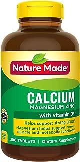 Nature Made 钙镁锌&维生素D片,300片