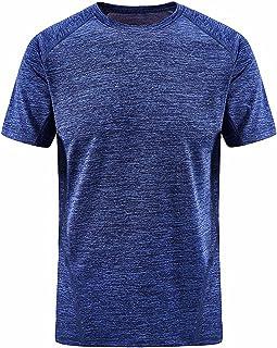 [ジェームズ・スクエア] スポーツ フィットネス Tシャツ 速乾 ドライ ストレッチ 4カラー L~3XL メンズ