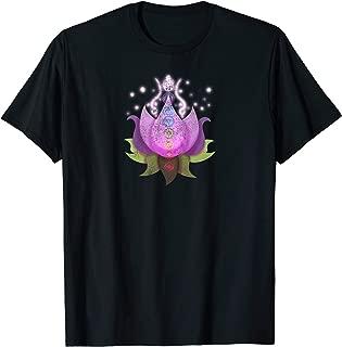 Lotus Flower T-Shirt in Pink Namaste Chakra