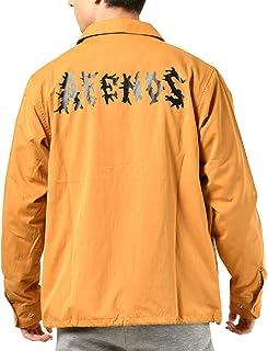 AFENDS アフェンズ メンズ ジャケット Waves アウター コーチジャケット コーチ カジュアル 長袖 ブルゾン ジャンパー 春 18D13-01