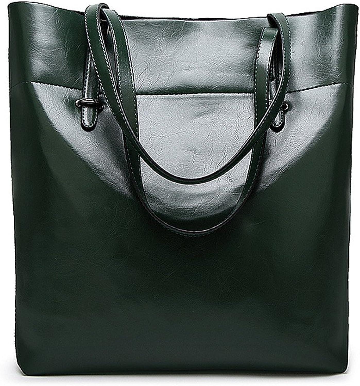 Frauen Frauen Frauen Handtasche Damen Leder Tasche Schultertasche Diagonal Große Kapazität Weibliche Winter Paket Grün B07FQGXPLJ  Haltbarer Service 307ef1