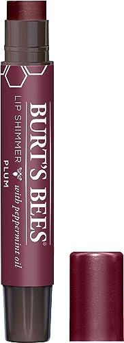Burt's Bees Lip Shimmer, Plum, 2.6g