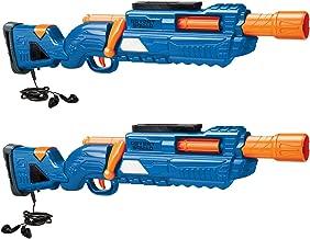 Buzz Bee Air Warriors Covert Squad 2 Pack Dart Blaster Set, Blue