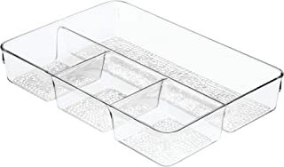 InterDesign Rain 4-Section Tray