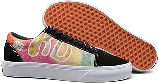 Love Baseball Women Skate Shoe Slip on Shoes Old Skool Shoes