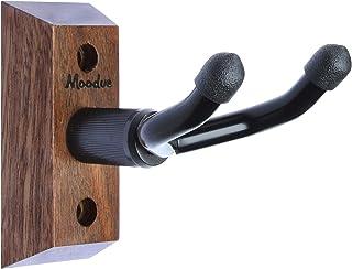 Ukulele Wall Mount Hanger, Moodve Ukulele Holder Stand For Wall Fits Ukulele/Mandolin/Banjo, Ukulele Hanger Display For Co...