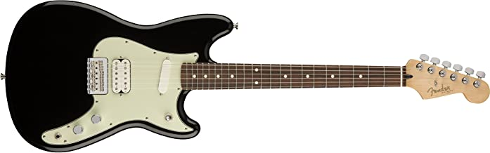 Fender Duo-Sonic HS 6-String Electric Guitar - Black