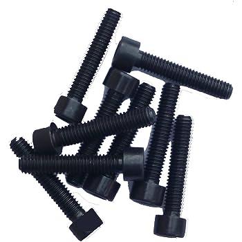 Zylinderschrauben M6x30 DIN 912 25 St/ück Festigkeit 12.9 mit Innensechskant schwarz