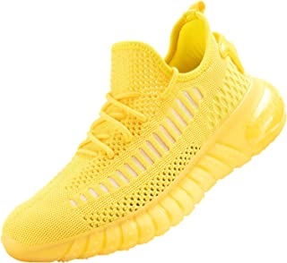 MOERDENG Men's Breathable Fashion Sneaker Damping Running Walking Shoes
