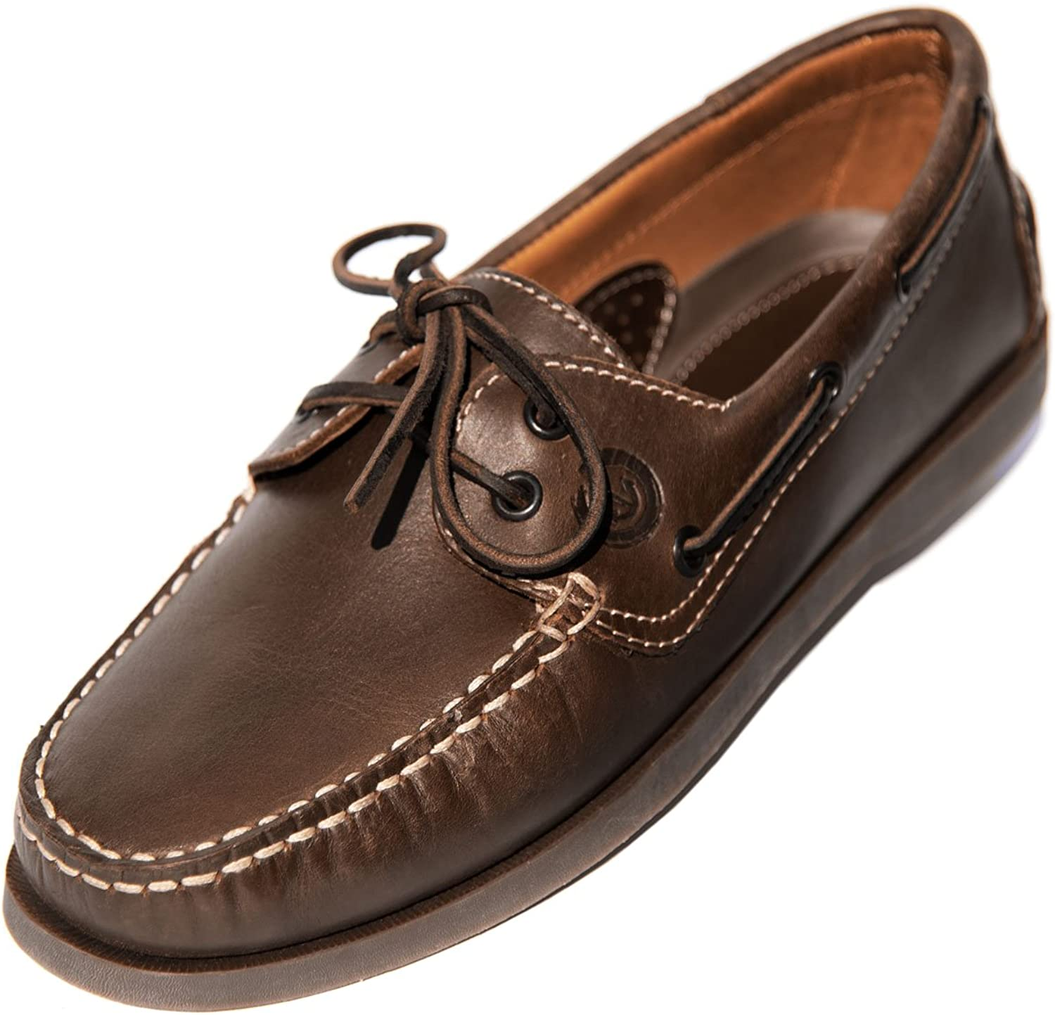 MADSea Men's Boating shoes Brown Brown