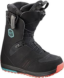 Women's Ivy Snowboard Boot, Black/Teal, 2017