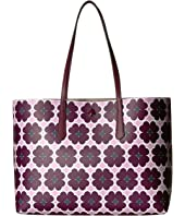 Kate Spade New York - Molly Graphic Clover Large Tote