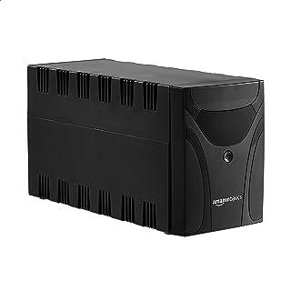 AmazonBasics - Fuente de alimentación ininterrumpida, 1500 VA, 6 tomas IEC, con software de apagado y protección contra sobretensiones