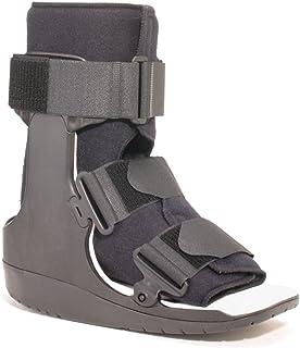 OTC Walker Boot Delux Short Low Top Leg Cast, Black, Medium