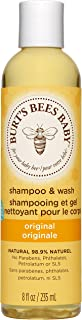 Burt's Bees Baby Bee Collection Shampoo and Wash, Tear-Free 8 fl. oz