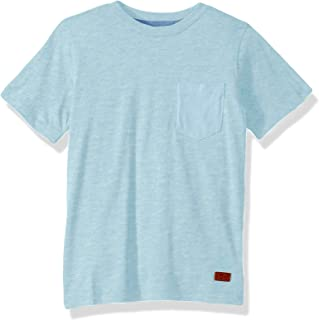 7 For All Mankind Boys' Short Sleeve Crew Neck Tee