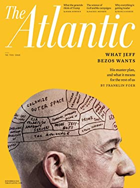 The Atlantic Magazine November 2019 The Tech Issue; Jeff Bezos Master Plan