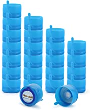 3 and 5 Gallon Water Jug Replacement Caps (24-Pack), Multi-Use Parts Non Spill Lids for Water Dispenser Carboys