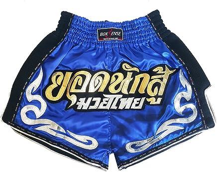 Boxsense Muay Thai Kick Boxen Retro Retro Retro Hose Hosen Shorts   BXSRTO-027-Blau-S B079YSJ5SH   | Verrückter Preis  13fc1e