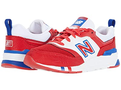 New Balance Kids 997H (Little Kid) (Team Red/Team Royal) Boys Shoes