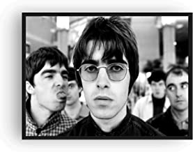 Mile High Media Oasis Poster Black and White Print Liam Gallagher (13x19)