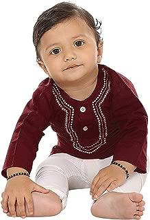 Mahroon Kurta Pyjama for Boys