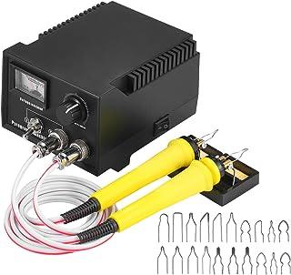 60W 220V 29PCS Woodburner Wood Burning Tool Kit Adjustable 0℃-800℃ Dial Pointer Woodburning Pyrography Pen Machine Set Ele...