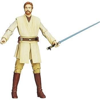 Amazon Com Star Wars The Black Series Obi Wan Kenobi 6 Figure Toys Games