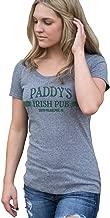 Superluxe Clothing Womens Paddys Irish Pub St Patricks Day Tri-Blend T-Shirt