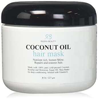 Radha Beauty Coconut Oil Hair Mask-Deep Conditioner