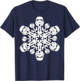 Stormtrooper Christmas Snowflake Graphic T-Shirt